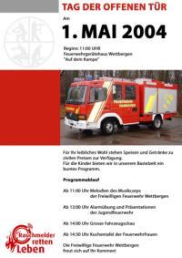 FF Wettbergen: Tag der offenen T�r 2004