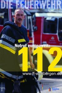 Notruf europaweit: 112