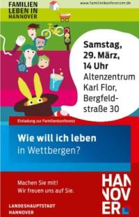 Familienkonferenz in Wettbergen am Samstag, 29. M�rz 2014
